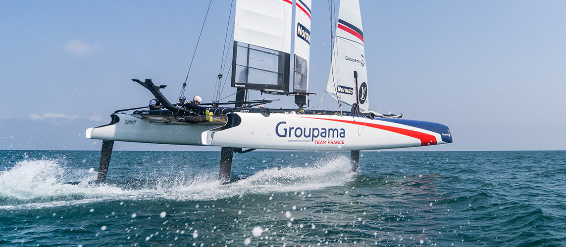 Groupama Team France – 35th America's Cup